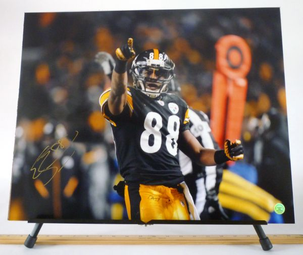Emmanuel Sanders, Pittsburgh Steelers signed 16x20 photo