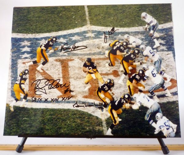 Super Bowl XIII, Pittsburgh Steelers signed 16x20 photo