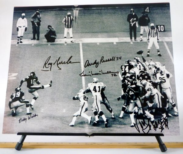 Pittsburgh Steelers signed 16x20 photo