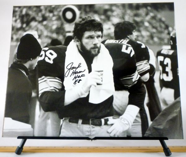 Jack Ham, Pittsburgh Steelers signed 16x20 photo