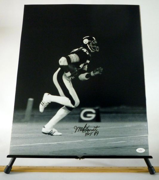 Mel Blount, Pittsburgh Steelers signed 16x20 photo