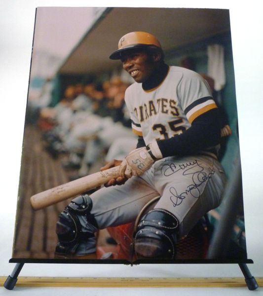 Manny Sanguillen, Pittsburgh Pirates signed 16x20 photo