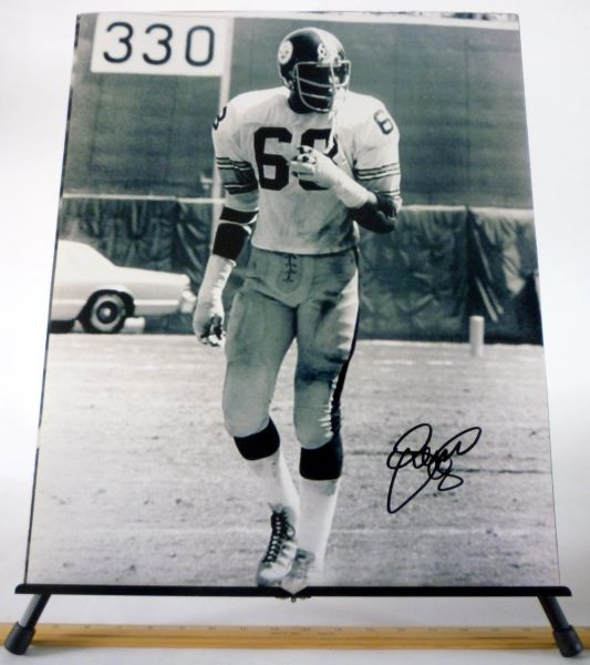LC Greenwood, Pittsburgh Steelers signed 16x20 photo