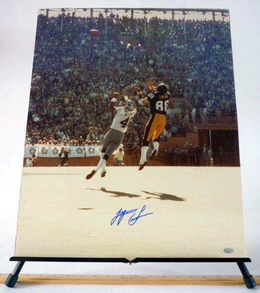Lynn Swann, Pittsburgh Steelers signed 16x20 photo