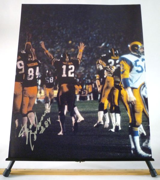 Randy Grossman, Pittsburgh Steelers signed 16x20 photo