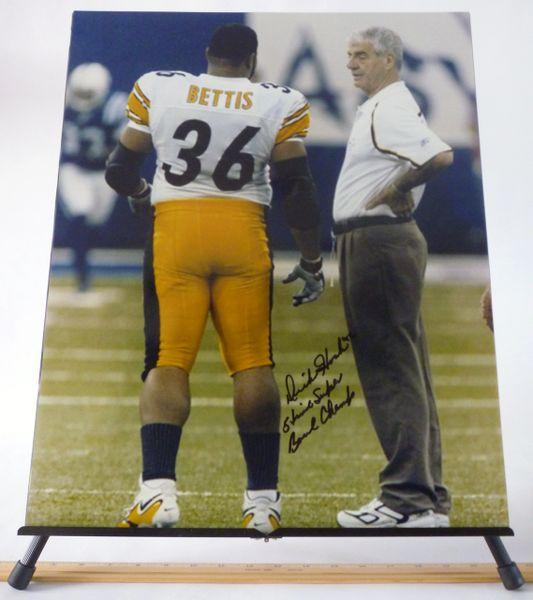 Dick Hoak, Pittsburgh Steelers signed 16x20 photo