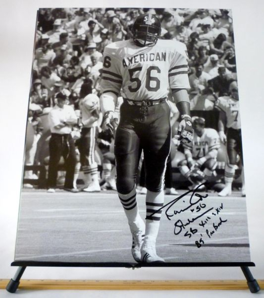 Robin Cole, Pittsburgh Steelers signed 16x20 photo