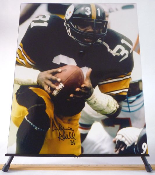 Donnie Shell, Pittsburgh Steelers signed 16x20 photo