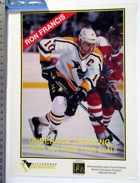 (4) misc. Pittsburgh Penguins posters