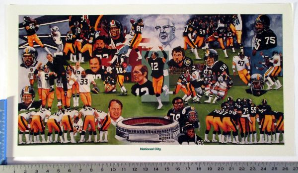 Pittsburgh Steelers Super Bowl reunion poster