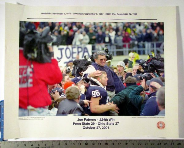 Joe Paterno - Penn State football poster