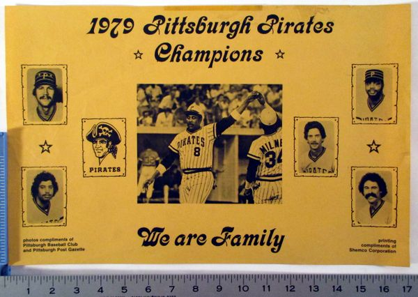 (10) Pittsburgh Pirates misc. poster lot