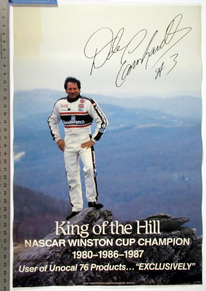 (3) Nascar Racing poster lot - Dale Earnhardt
