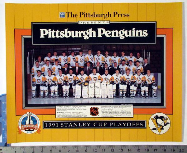 1991 Pittsburgh Penguins - Stanley Cup Playoffs poster