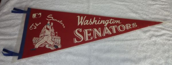 1969 Washington Senators full-size pennant
