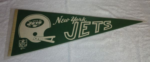 1967 New York Jets full-size pennant