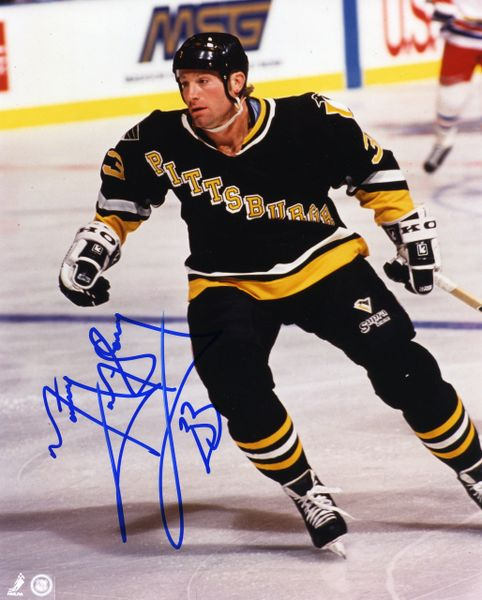 Marty McSorley - Pittsburgh Penguins signed 8x10 photo
