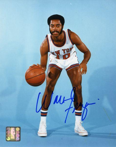 Walt Frazier - New York Knicks signed 8x10 photo
