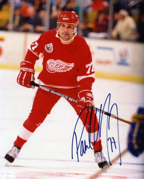 Paul Coffey - Detroit Red Wings signed 8x10 photo
