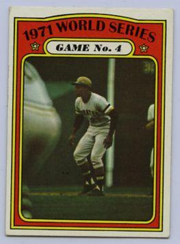 23. 1972 TOPPS BASEBALL CARD #226 - CLEMENTE