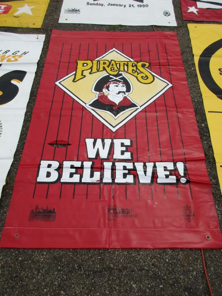 Pittsburgh Pirates City of Pittsburgh street banner
