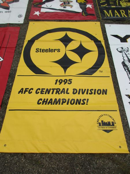 Pittsburgh Steelers City of Pittsburgh street banner