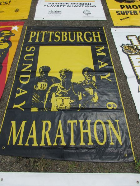 Pittsburgh Marathon, City of Pittsburgh street banner