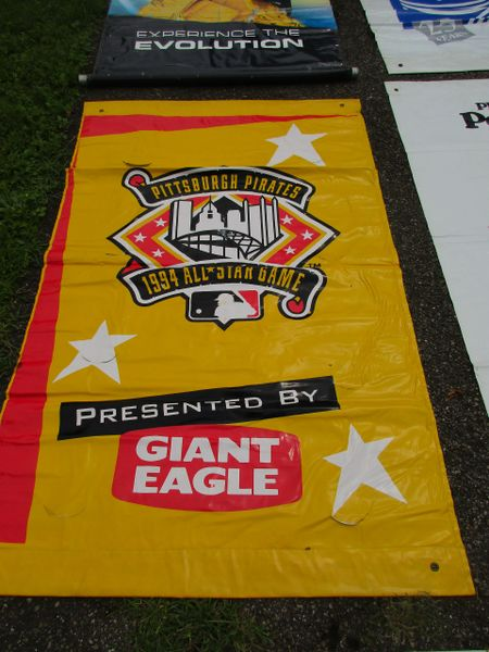 1994 All Star Game, Pirates, City of Pittsburgh street banner