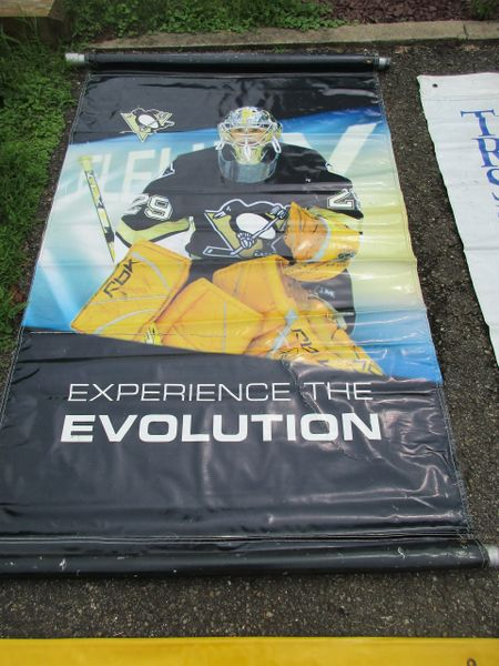 Marc Andre Fleury, Penguins City of Pittsburgh street banner