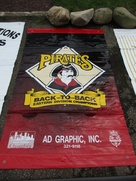 1992 Pittsburgh Pirates City of Pittsburgh street banner