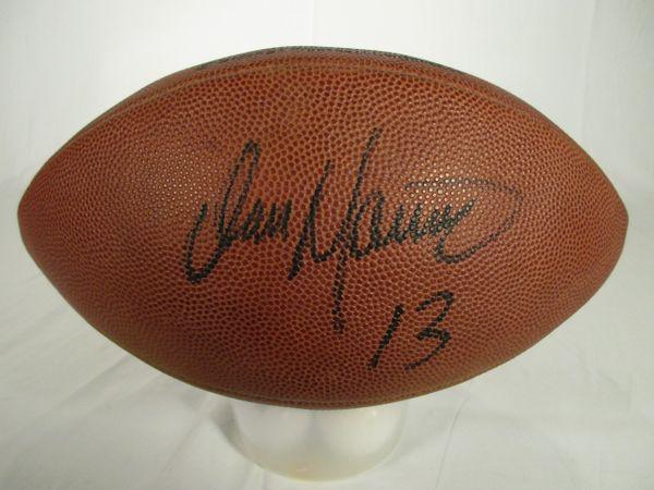 quality design 37e5e ff2f0 Dan Marino Pitt Panthers, Miami Dolphins signed football
