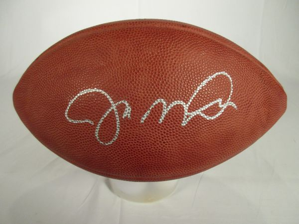 Joe Montana Notre Dame, San Francisco 49er's signed football