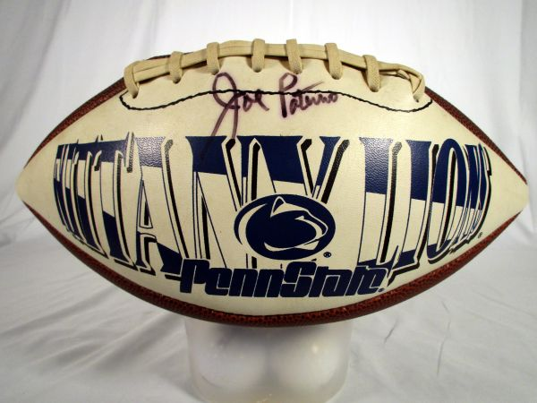 Joe Paterno, Penn State signed football