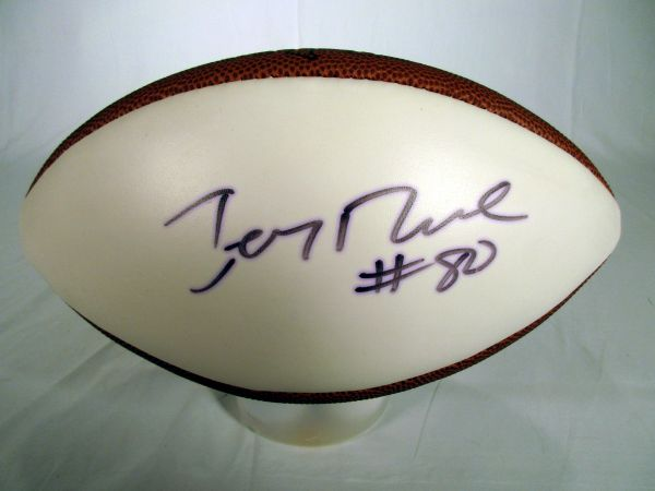 Jerry Rice San Francisco 49er's signed football