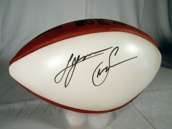 Lynn Swann USC, Pittsburgh Steelers signed football