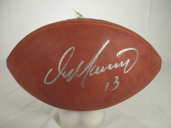 Dan Marino Pitt Panthers, Miami Dolphins signed football