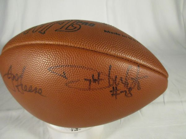 Steel Curtain, Pittsburgh Steelers signed football