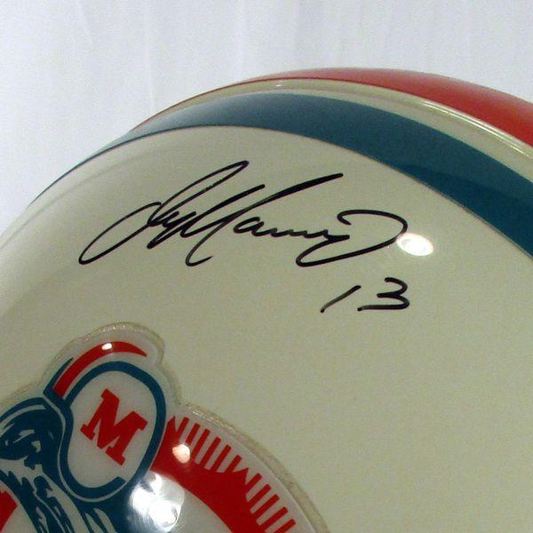 Dan Marino Miami Dolphins signed Upper Deck Auth. full size helmet