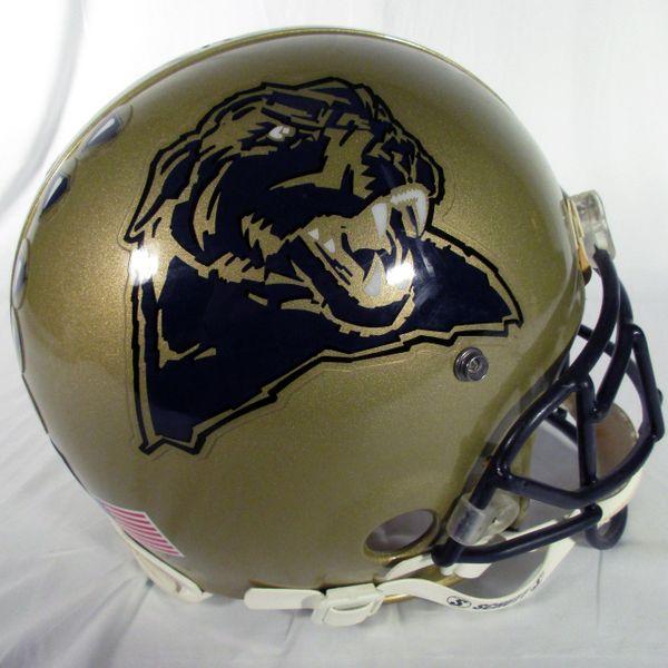 Pitt game used football helmet #7 - Robinson, DB