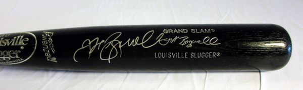 Jeff Bagwell Houston Astros signed signature model bat