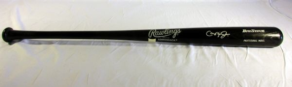 Cal Ripken Baltimore Orioles - signed professional model bat