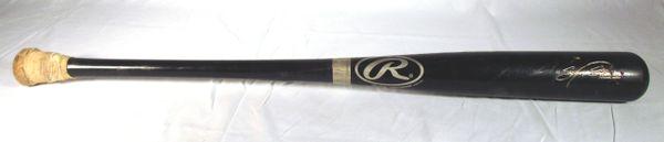Sammy Sosa Chicago Cubs game used bat