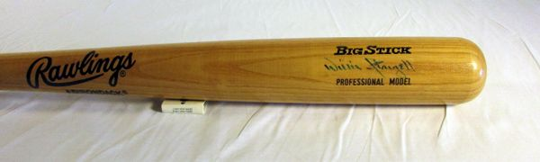 Willie Stargell Pittsburgh Pirates signed professional model bat
