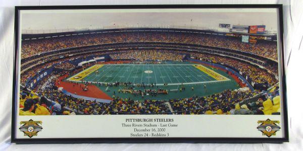 Three Rivers Stadium - Last Game - Steelers vs. Redskins