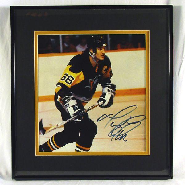 Mario Lemieux, Pittsburgh Penguins signed photo