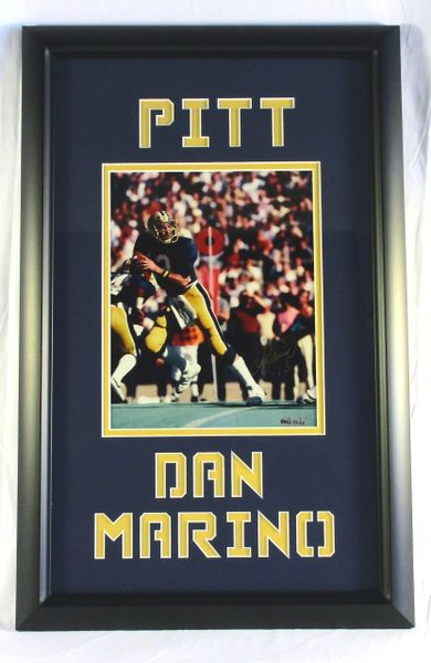 Dan Marino - Pitt Panthers - signed 8x10 photo - UDA