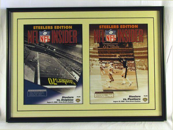 Pittsburgh Steelers - (2) 2000 NFL Insider programs