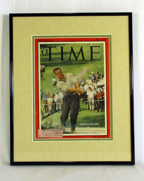 Arnold Palmer signed TIME magazine - 5/2/60