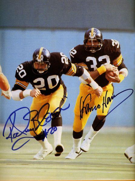 11. Rocky Bleier & Franco Harris 8x10 photo