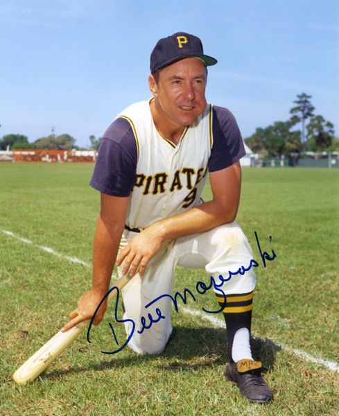 15. Bill Mazeroski 8x10 photo
